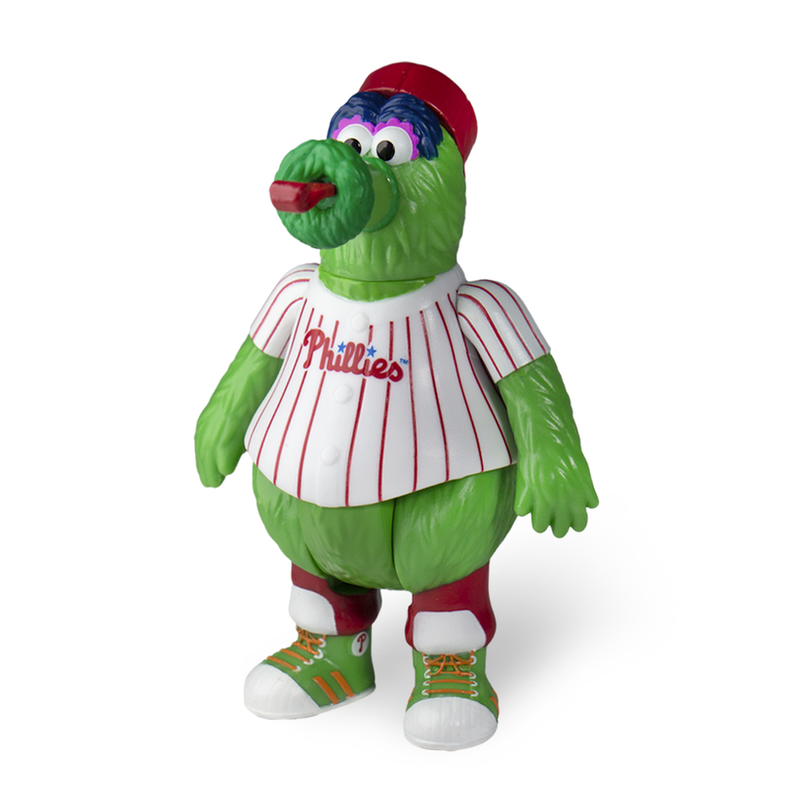 MLB Mascot ReAction Figure Phillie Phanatic (Philadelphia Phillies)