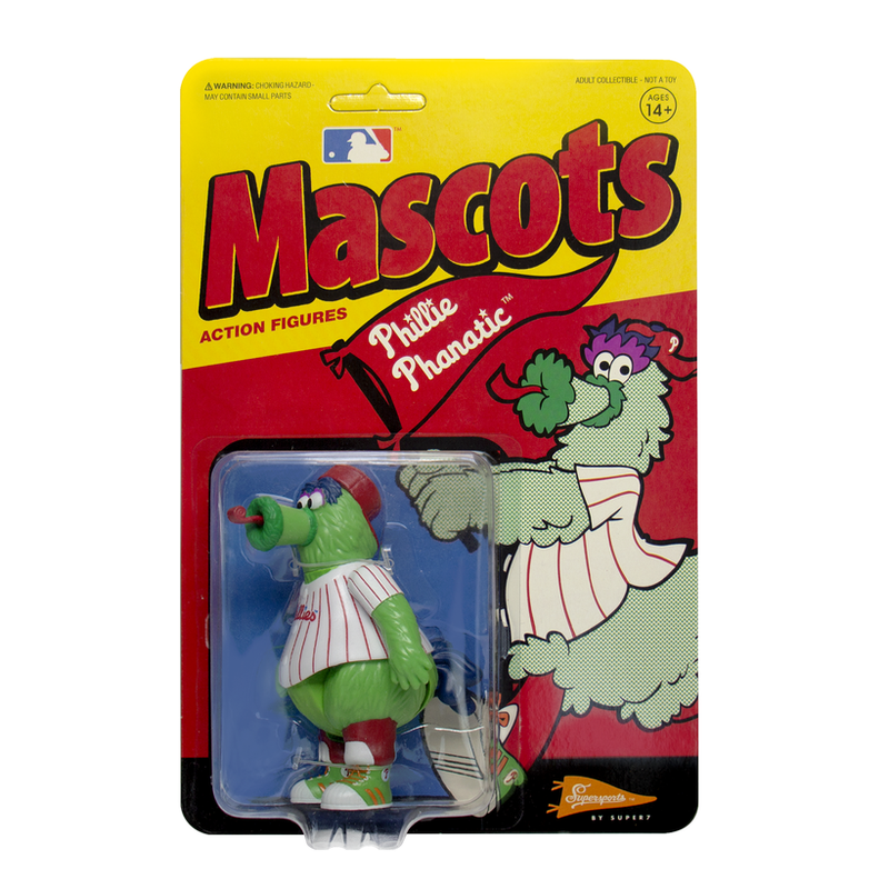 MLB Mascot ReAction Figure Phillie Phanatic (Philadelphia Phillies)