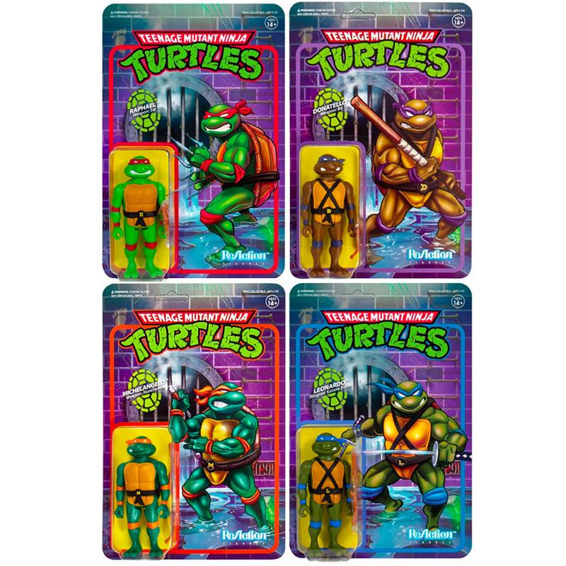 Teenage Mutant Ninja Turtles ReAction Figure TMNT