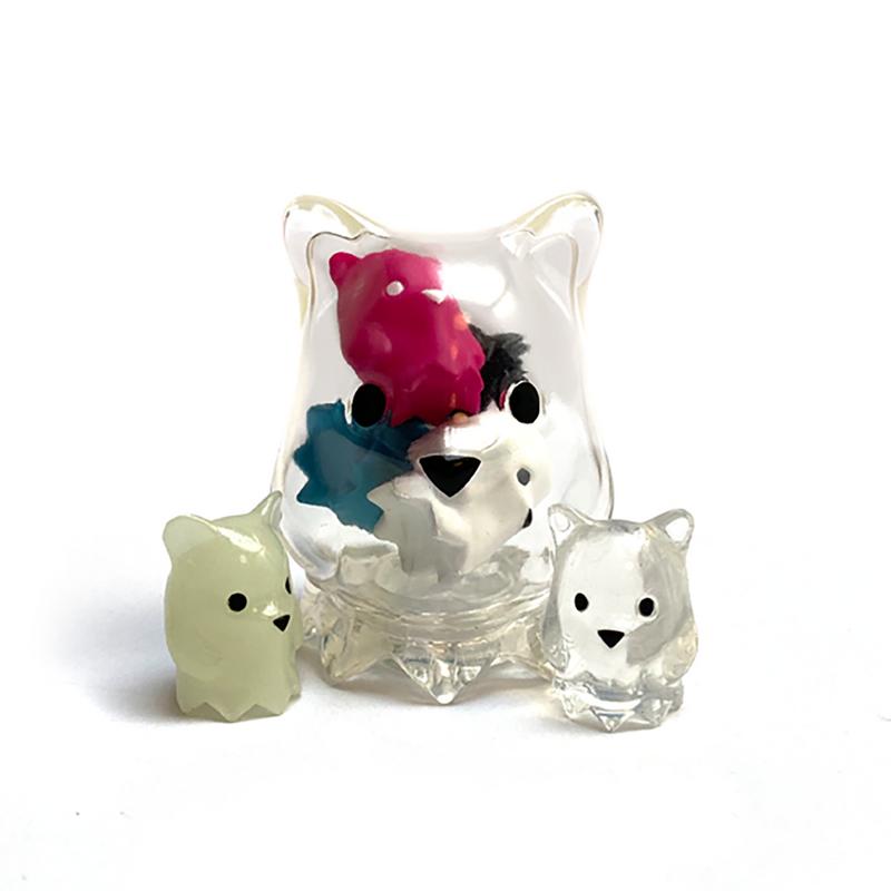 Mini Ghostbear Random Assortment by Luke Chueh