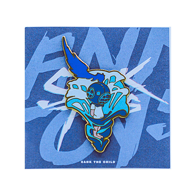 Void Series Enamel Pin #2 by Sank Toys