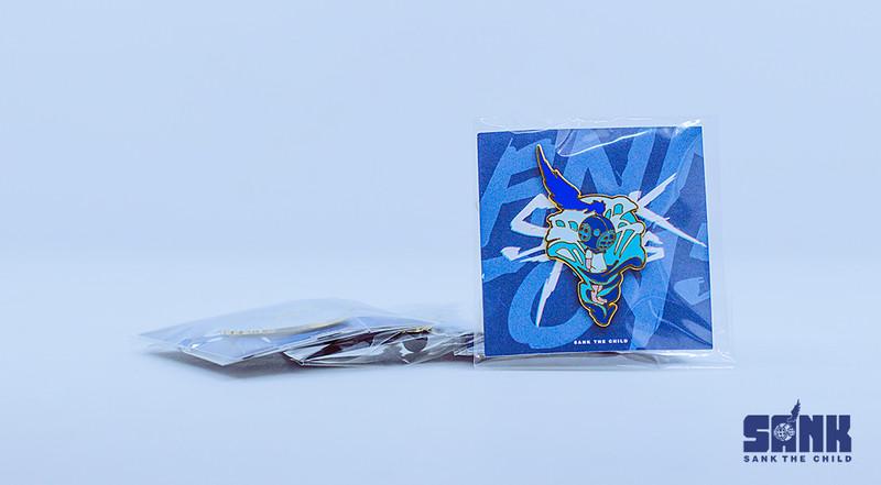 Void Series Enamel Pin #2 by Sank Toys