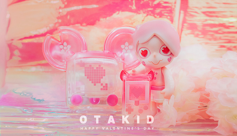 OTAKID Pink Love by Sank Toys