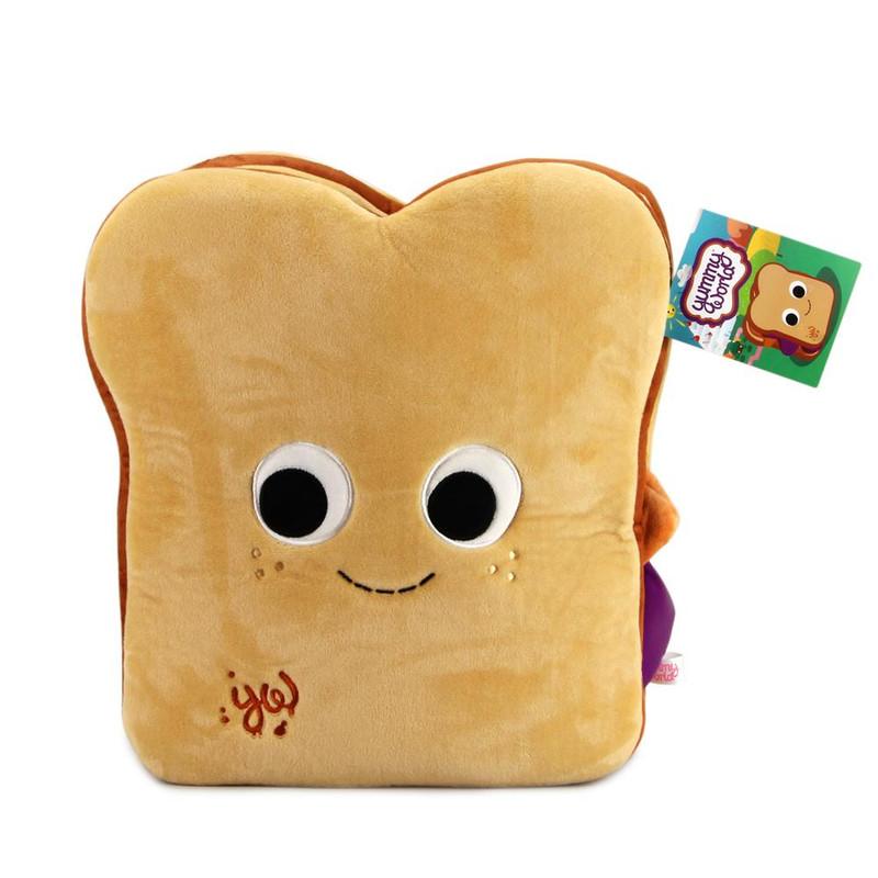Yummy World Parker & Jayden Peanut Butter and Jelly Sandwich Large Plush