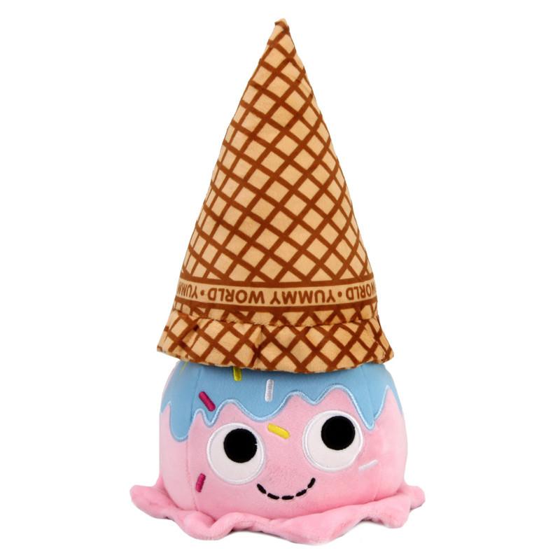 Yummy World Walter Waffle Cone Ice Cream Scoop Medium Plush