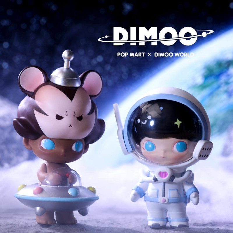 Dimoo Space Travel Mini Series by Ayan Blind Box
