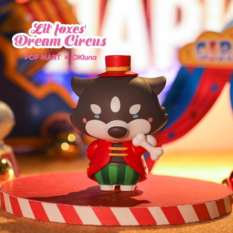 Lil' Foxes Dream Circus Mini Series Blind Box by OKLuna
