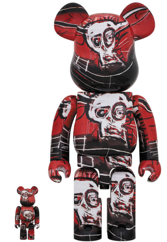 Be@rbrick 400% and 100% Jean-Michel Basquiat #5