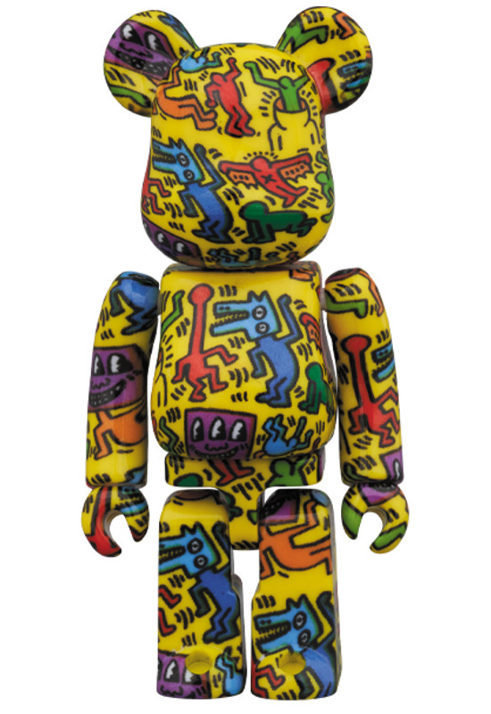 Be@rbrick 400% and 100% Keith Haring #5 PRE-ORDER SHIPS SEP 2020