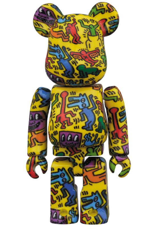 Be@rbrick 400% and 100% Keith Haring #5 PRE-ORDER SHIPS SEP 2020