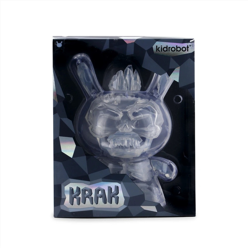 """8"""" Krak Dunny Crystal by Scott Tolleson"""