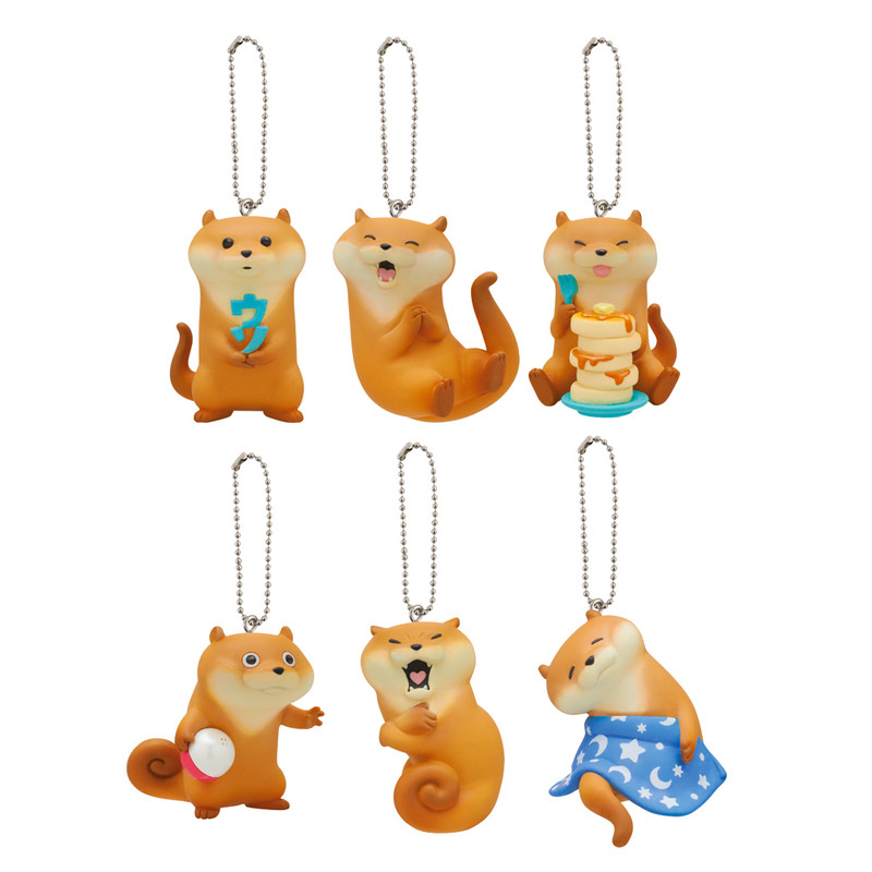 Kawaii Kawauso Sea Otter Keyring Blind Box