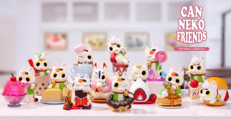Can Neko Friends Sweet Series by Konatsu Blind Box