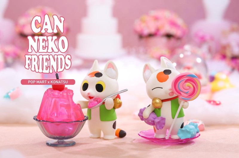 Can Neko Friends Sweet Series by Konatsu Blind Box PRE-ORDER SHIPS AUG 2020