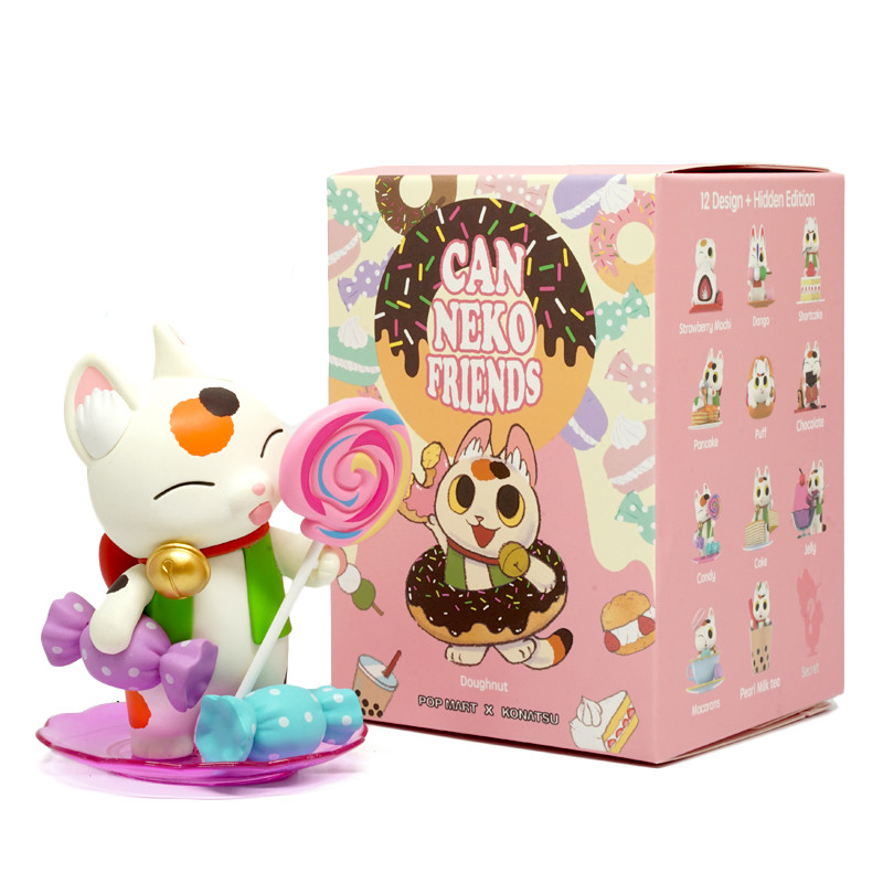 Can Neko Friends Sweet Series by Konatsu Blind Box