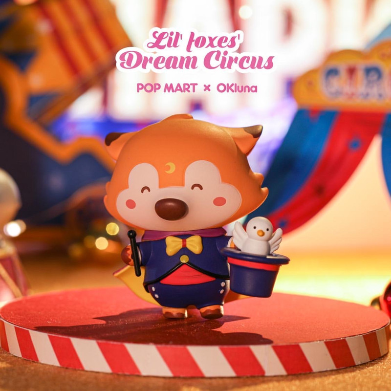 Lil' Foxes Dream Circus Mini Series Open Blind Box by OKLuna