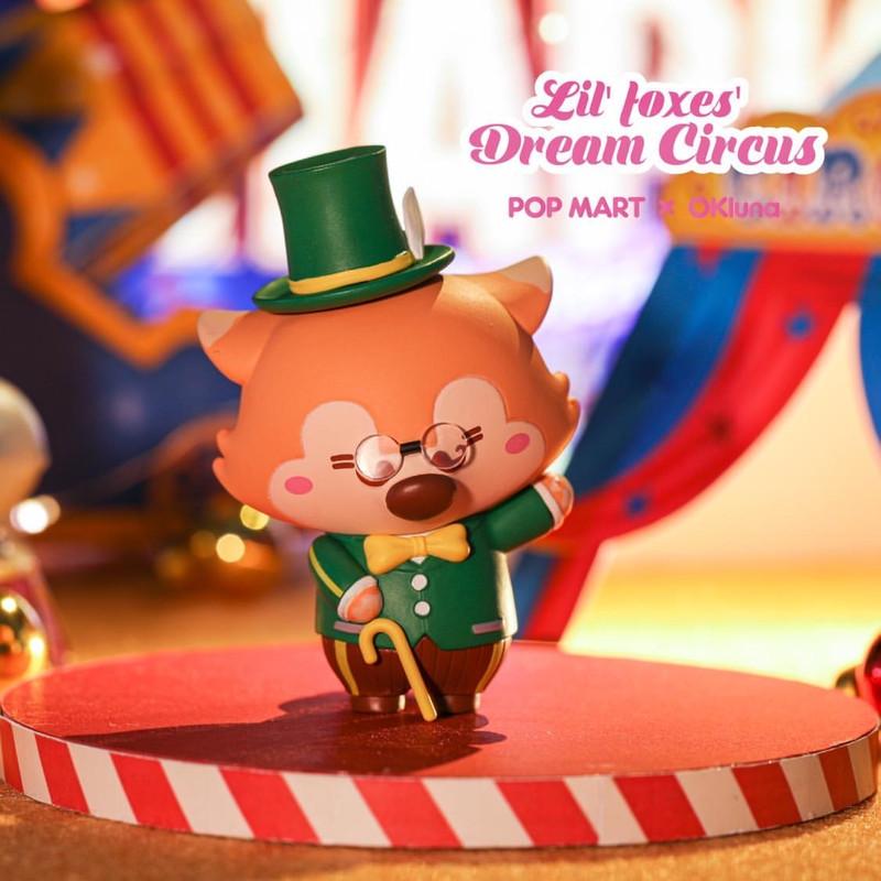 Lil' Foxes Dream Circus Mini Series Open Blind Box by OKLuna