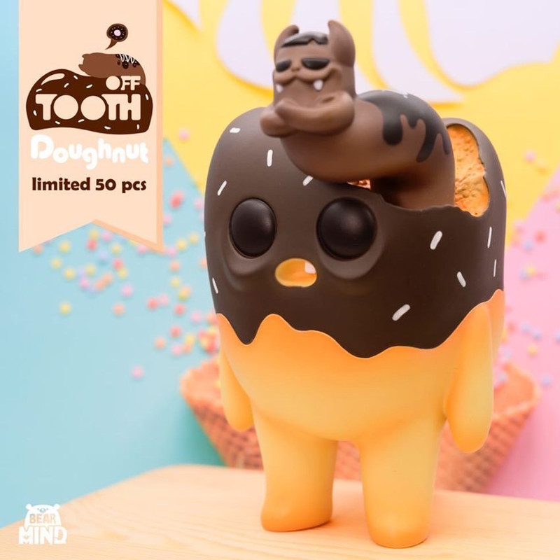 Tooth Off Doughnut PRE-ORDER SHIPS APR 2020