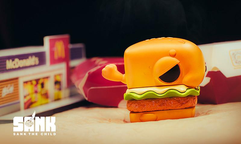 Chicken Sandwich Seal by Sank Toys