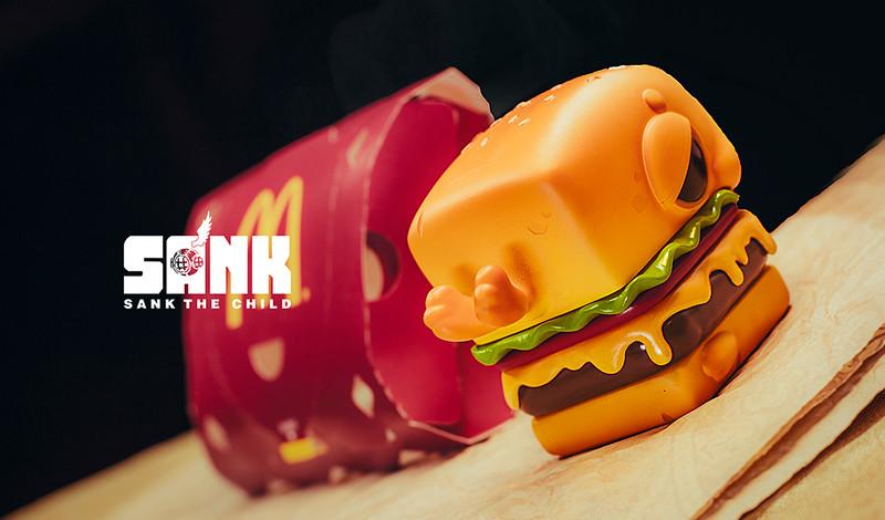 Hamburger Seal by Sank Toys PRE-ORDER SHIPS JUN 2020
