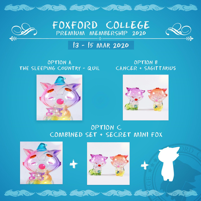 Foxford College Premium Membership 2020 PRE-ORDER SHIPS LATE MAY 2020