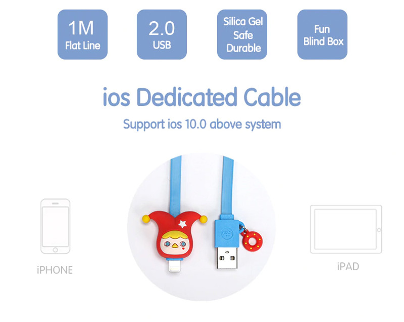Pucky Lightning Cable for IPhone, IPad