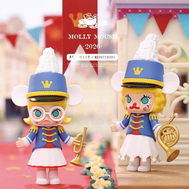 Molly Mouse New Years Set by Kenny Wong