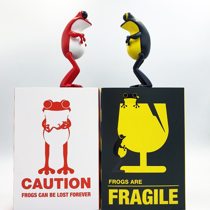 APO Frogs Caution & Fragile by Twelvedot SHIPS WEEK OF OCT 25 2021