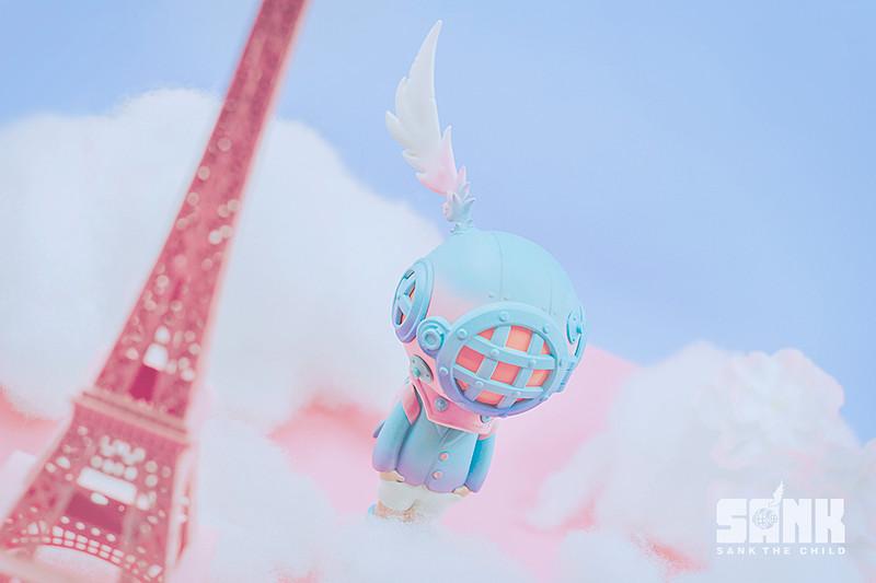 Backpack Boy Pink & Blue by Sank Toys PRE-ORDER SHIPS JUN 2020