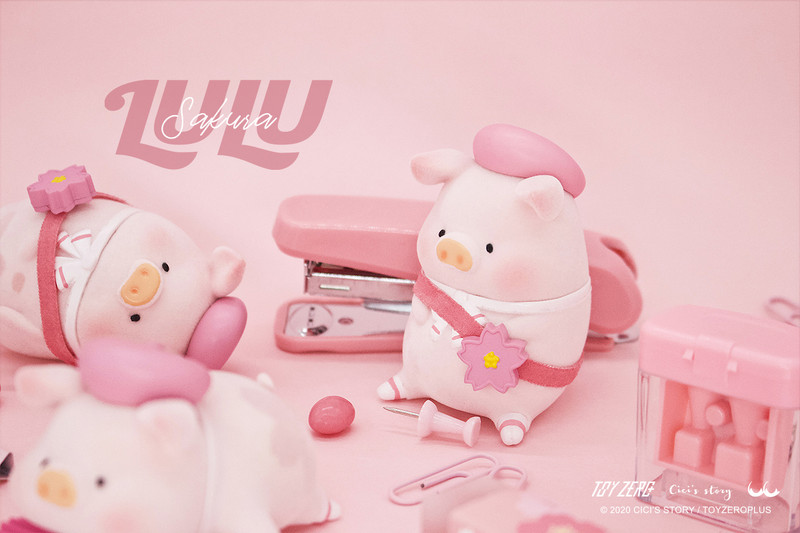 Lulu The Piggy Sakura Series Blind Box