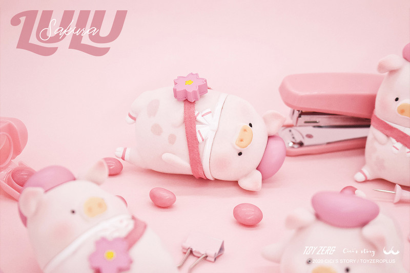 Lulu The Piggy Sakura Series Blind Box PRE-ORDER SHIPS JUN 2020