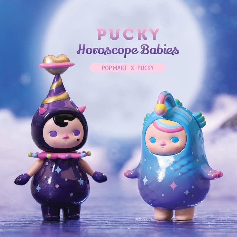 Pucky Horoscope Babies Mini Series : Blind Box PRE-ORDER SHIPS AUG 2020