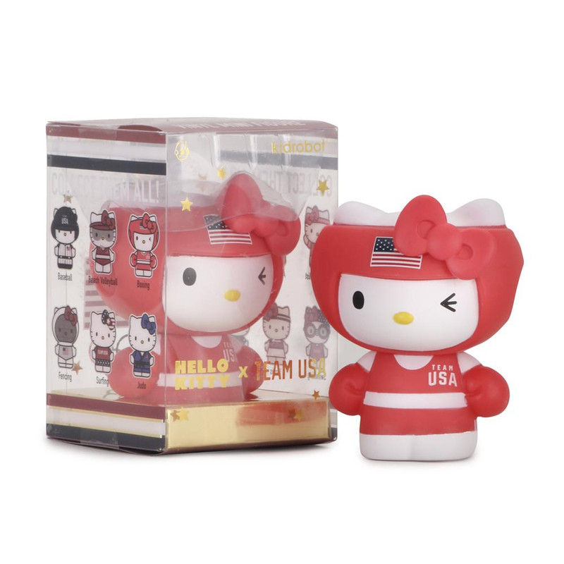 Hello Kitty Team USA Mini Figures Blind Box