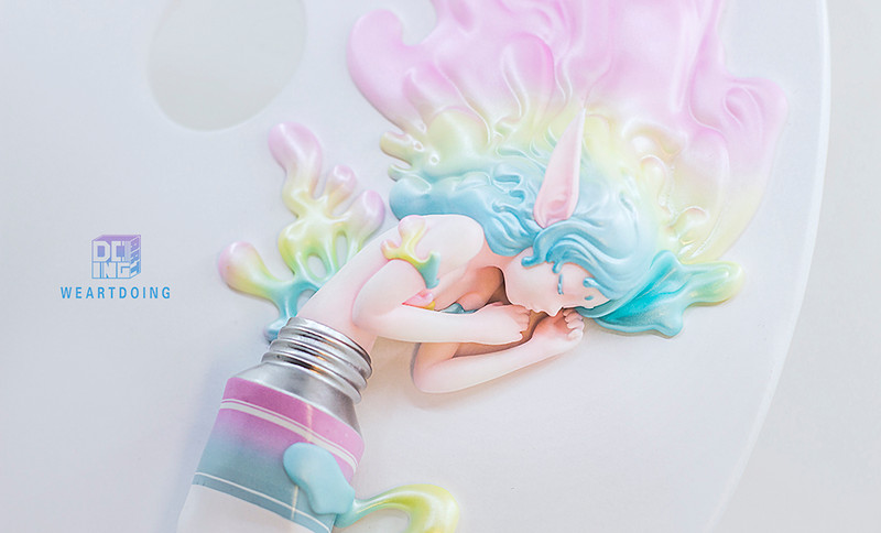 The Sleeping Beauty of Color Rainbow  PRE-ORDER SHIPS Q3 2020