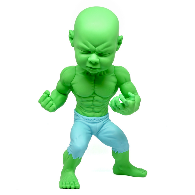 """Temper Tot 10"""" figure Mad Lad Pose by Ron English"""