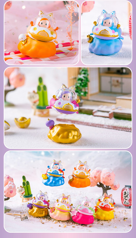 Catship Golden Spring Mini Series Blind Box by Ciecy PRE-ORDER SHIPS APR 2021