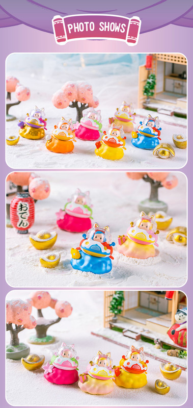 Catship Golden Spring Mini Series Blind Box by Ciecy
