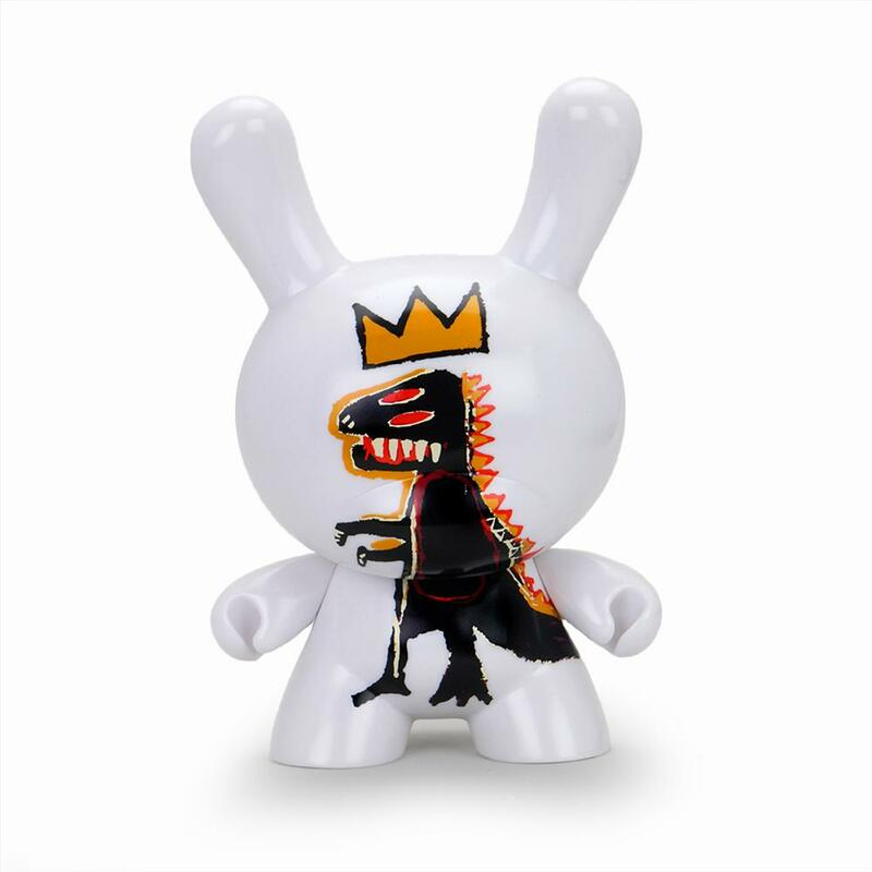 "Jean-Michel Basquiat 8"" Masterpiece Dunny Pez Dispenser"