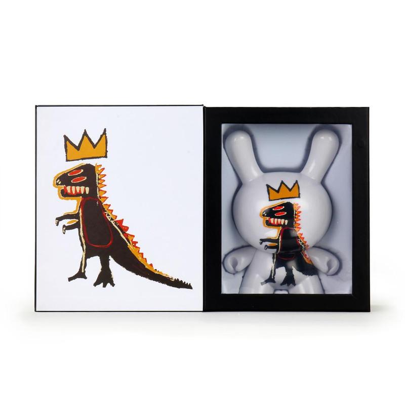 "Jean-Michel Basquiat 8"" Masterpiece Dunny Pez Dispenser"