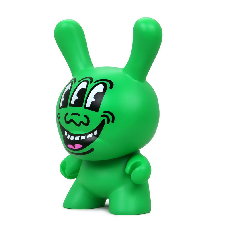 """Keith Haring 8"""" Masterpiece Dunny Three Eyed Monster"""