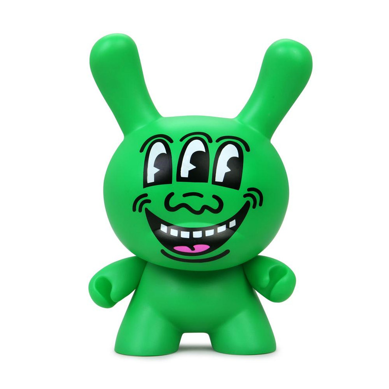 "Keith Haring 8"" Masterpiece Dunny Three Eyed Monster"