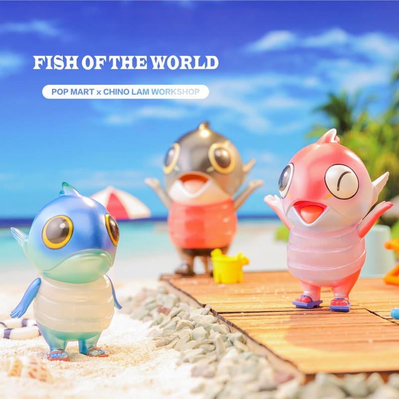 Fish of the World Mini Series by Chino Lam Blind Box