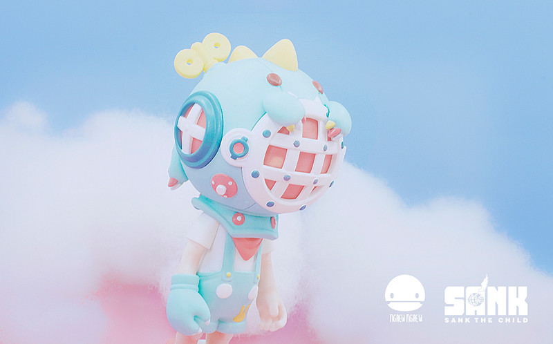 Little Sank Dino by Sank Toys X Ngaew Ngaew PRE-ORDER SHIPS JUL 2020