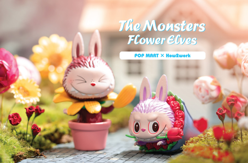 The Monsters Flower Elves Labubu Mini Series Blind Box by Kasing Lung PRE-ORDER SHIPS OCT 2020