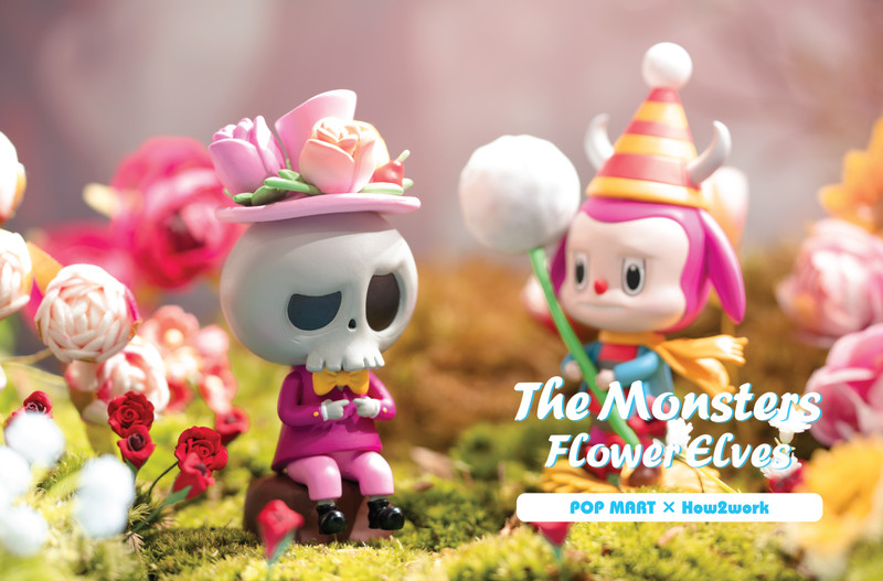 The Monsters Flower Elves Labubu Mini Series Blind Box by Kasing Lung