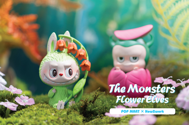 The Monsters Flower Elves Labubu Mini Series Blind Box by Kasing Lung PRE-ORDER SHIPS AUG 2020