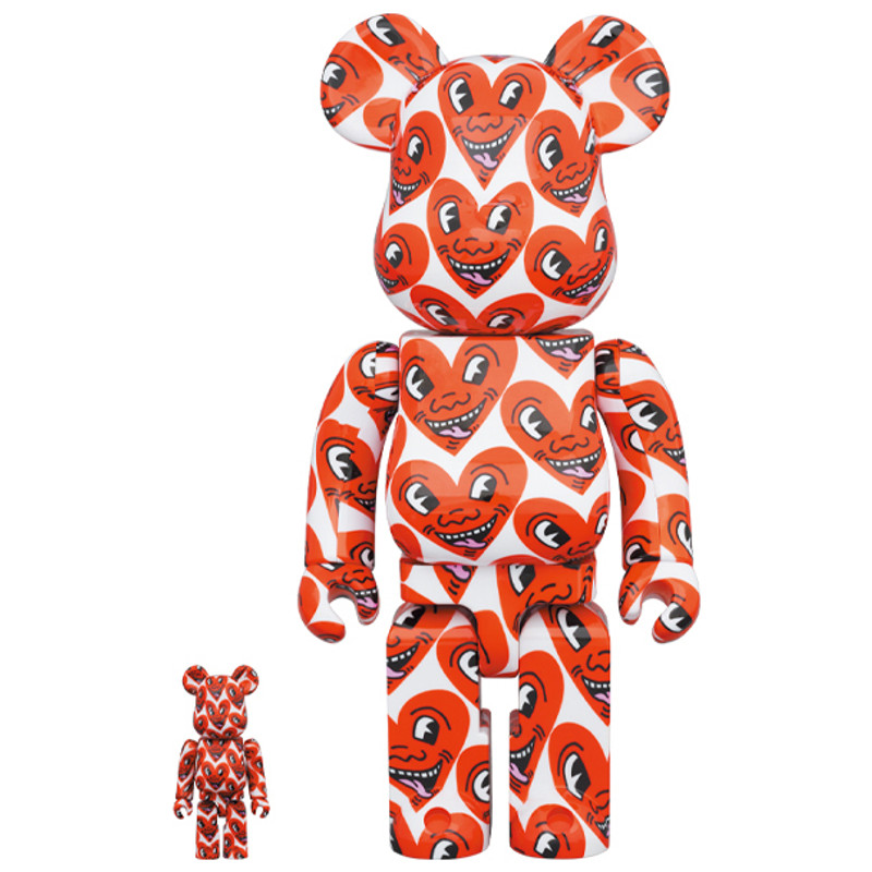 Be@rbrick 400% and 100% Keith Haring #6 PRE-ORDER SHIPS DEC 2020