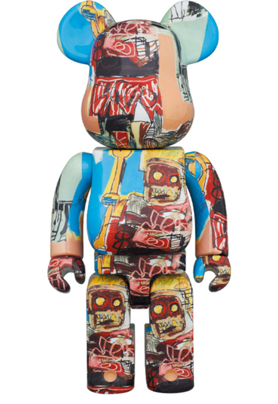Be@rbrick 400% and 100% Jean-Michel Basquiat #6 PRE-ORDER SHIPS DEC 2020