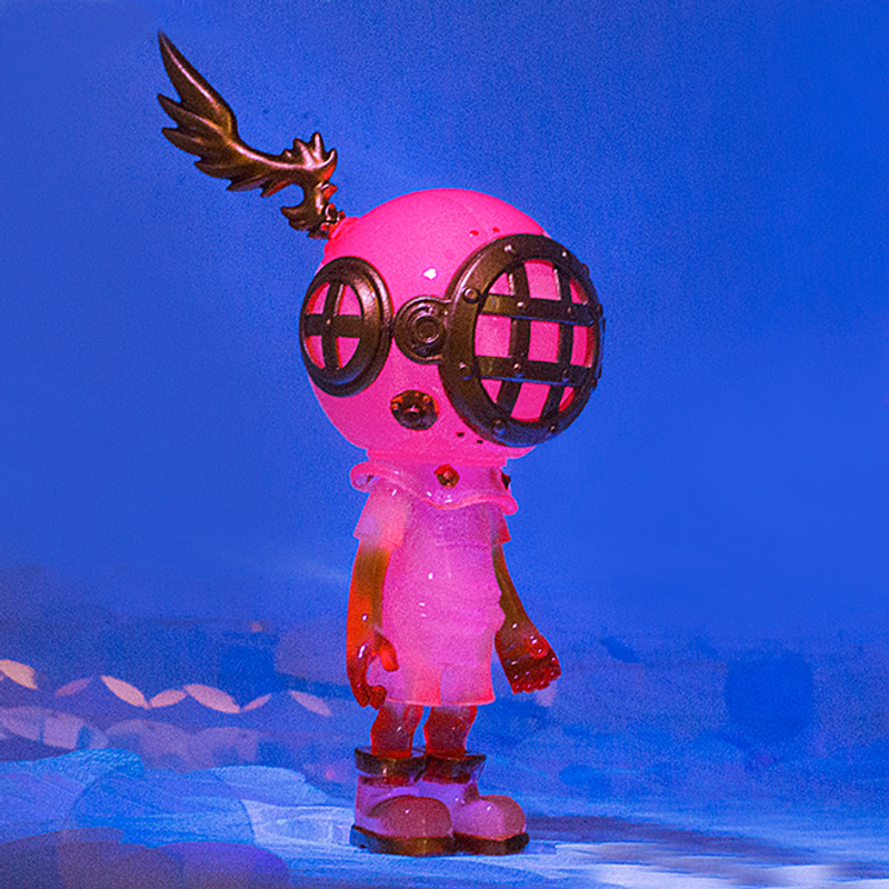 Little Sank GID Pink by Sank Toys PRE-ORDER SHIPS JUN 2020