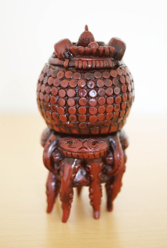 Clay Human Octopus by Kakeruri